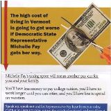 Vermonters First targets House representatives for backing taxes
