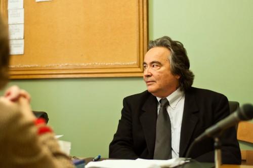 Sen. Anthony Pollina, file photo by Josh Larkin.