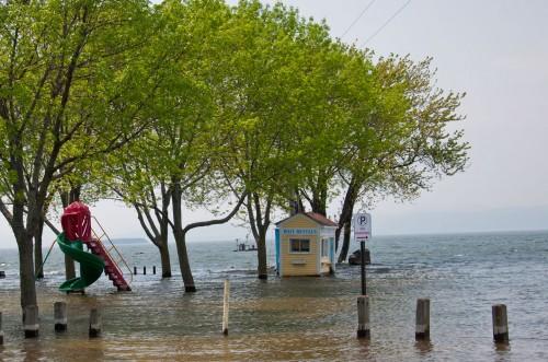 Perkins Pier on Lake Champlain in Burlington on Thursday, May 26, 2011. VTD/Josh Larkin