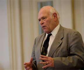 Senator Dick Sears, chair of Vermont's Senate Judiciary Committee.