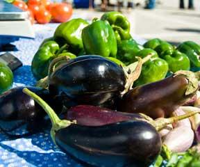 Local veggies at the Montpelier Farmer's Market. VTD/Josh Larkin
