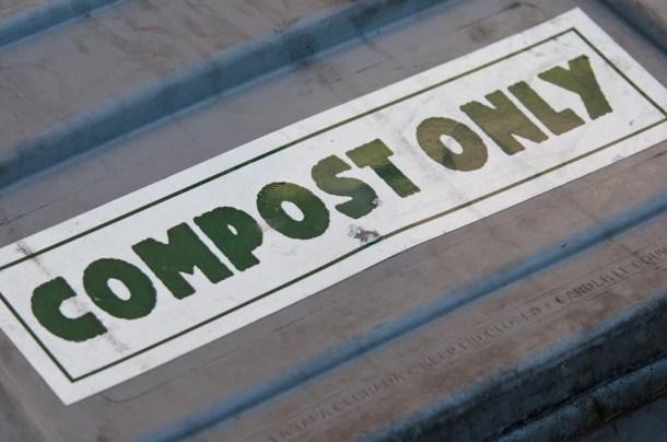 Compost Only. VTD/Josh Larkin