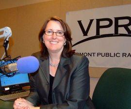 Robin Turnau, president of VPR. Photo by Joyce Martel
