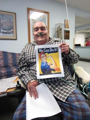 Vermont Veterans' Home resident Ransom Gore