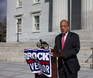 Randy Brock, Republican candidate for governor. Photo by Nat Rudarakanchana