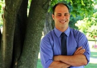 Dustin Degree of St. Albans, a former Republican representative in the Vermont Legislature. Courtesy photo