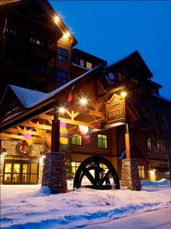 Jay Peak's Tram Haus Lodge. Photo by Justin Cash/skivermont.com