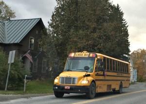 school bus East Calais