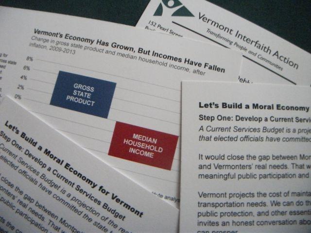 Vermont Interfaith Action, Moral Economy