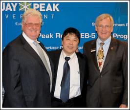 Rapid USAs Visas CEO Douglas Hulme and Bill Stenger