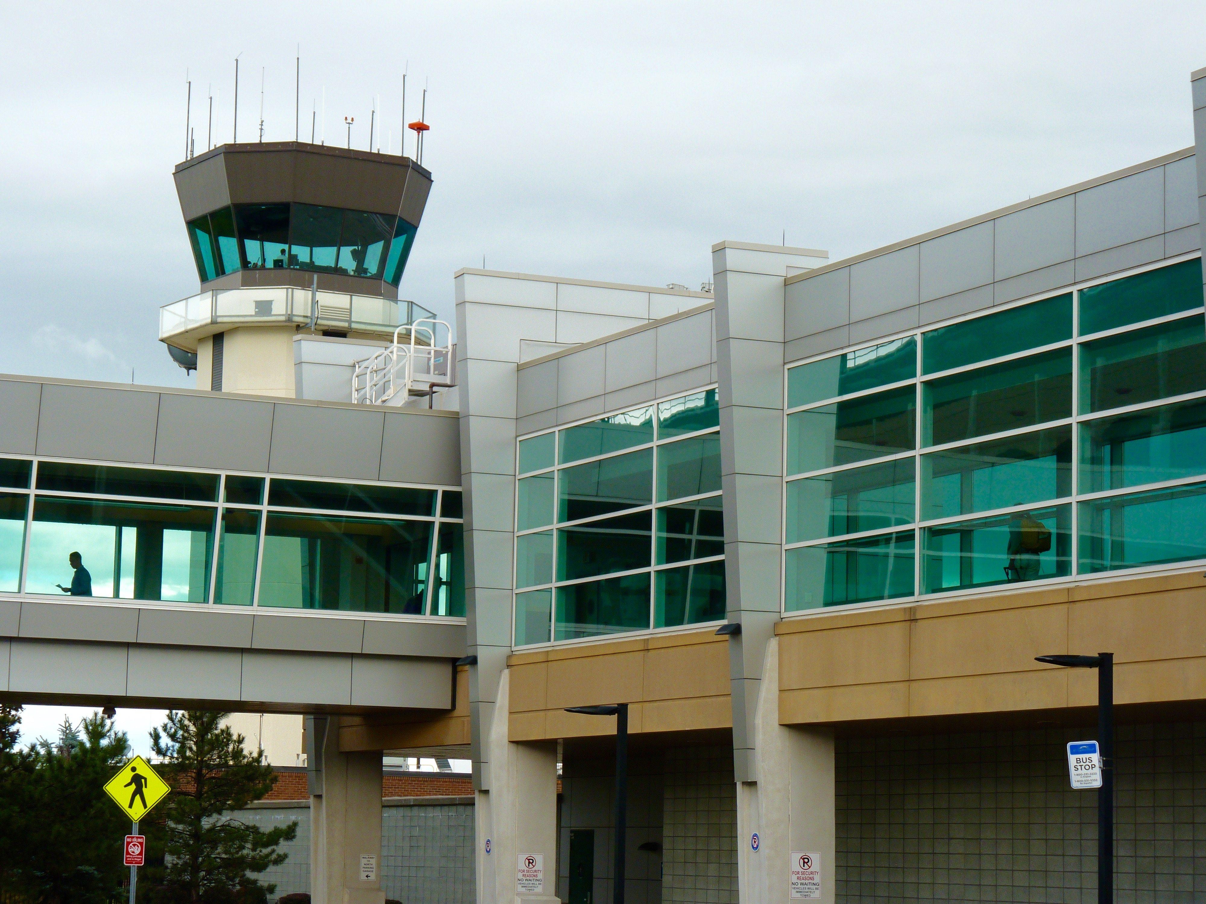 Burlington International Airport.