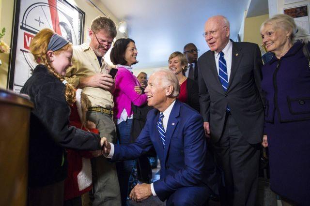 Joe Biden, Patrick Leahy, Marcelle Leahy