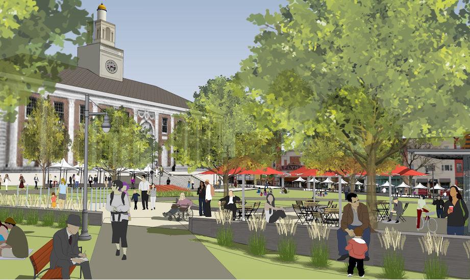 Burlington City Council Gives Final Ok To City Hall Park Renovation Vtdigger