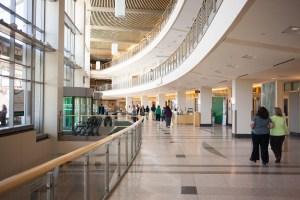 UVM Medical Center interior