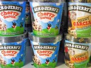 Ben & Jerry's Cherry Garcia ice cream