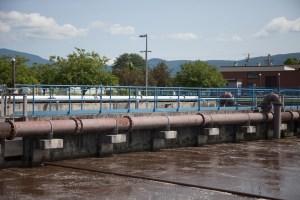 Rutland wastewater treatment tanks
