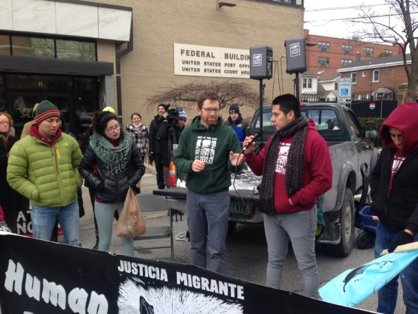 Migrant Justice rally