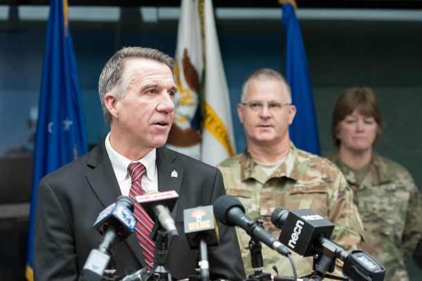Phil Scott, Vermont National Guard