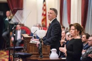 Gov. Phil Scott delivers his budget address