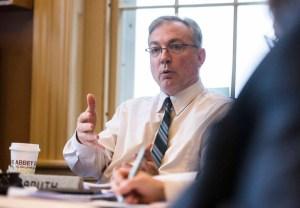 Sen. Phil Baruth speaks at a Senate Education Committee meeting