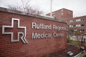Rutland Regional Medical Center sign
