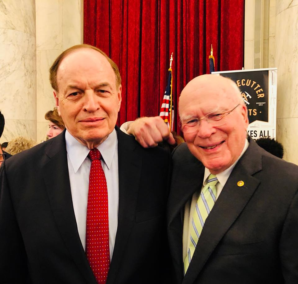Leahy, Shelby, broker southern border emergency funding bill during flights - VTDigger