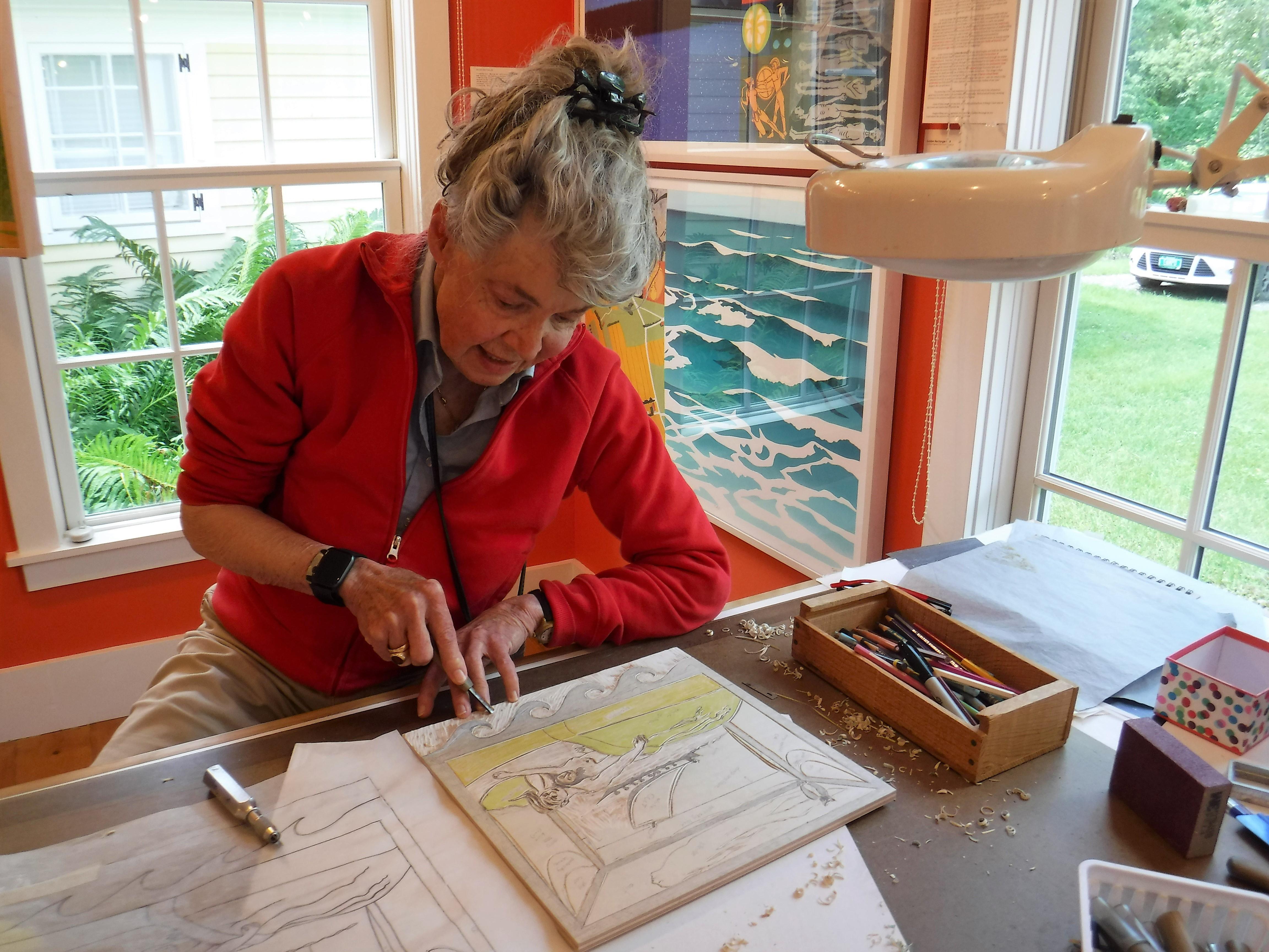 Sabra Field marks 50th year making Vermont art - VTDigger