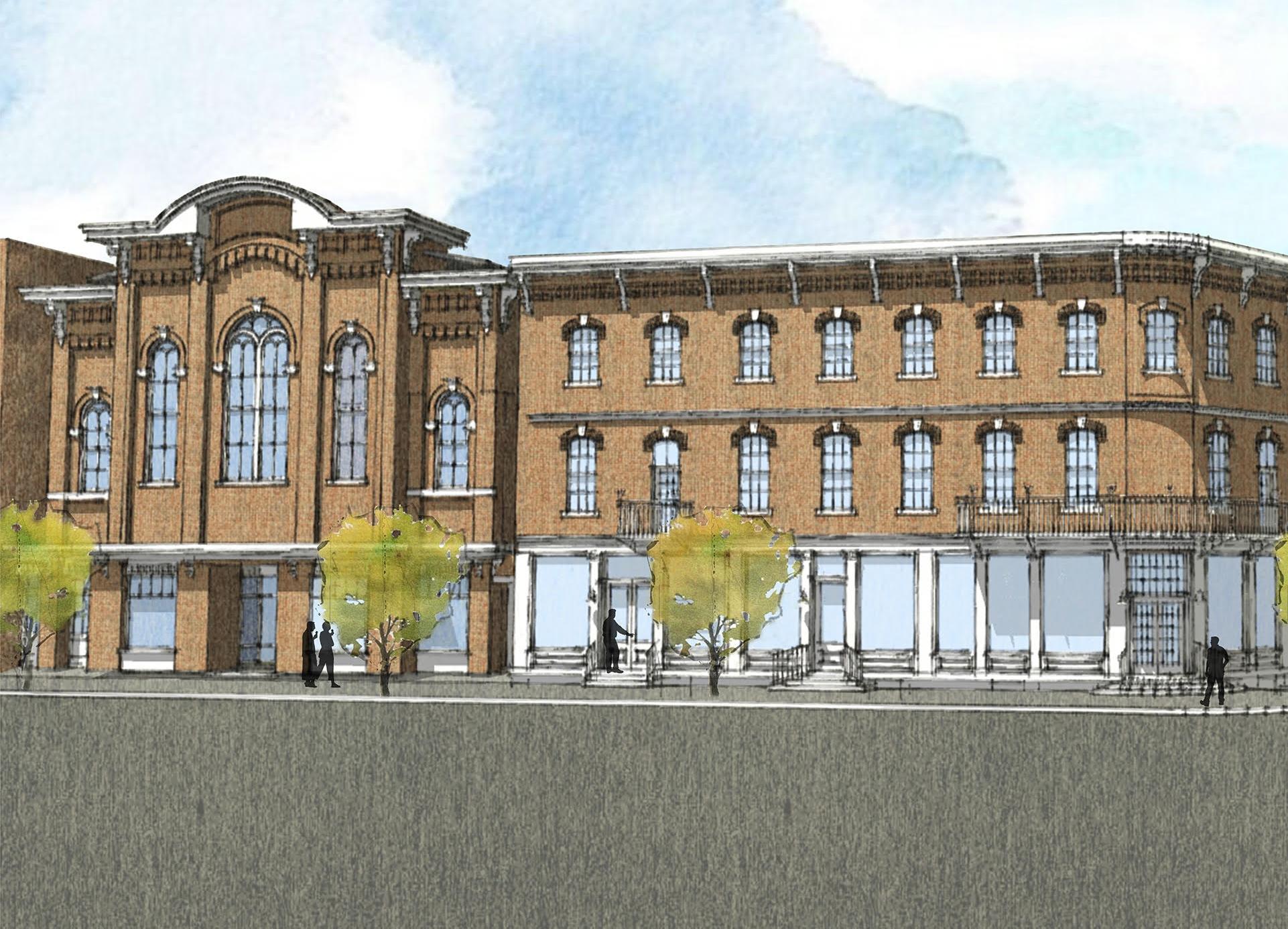 Bennington's Putnam Block redevelopment breaks ground