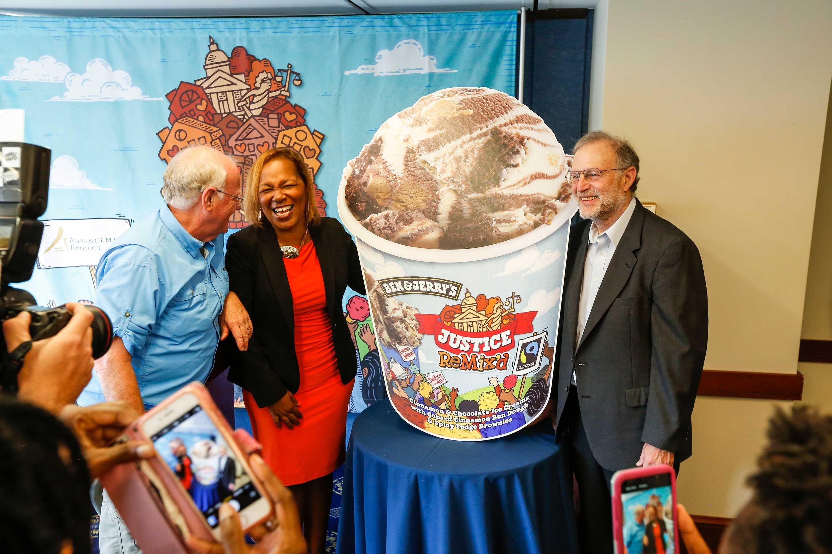 Ben & Jerry's new flavor spotlights criminal justice reform