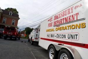 St. Johnsbury fire truck