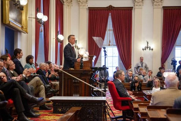 Phil Scott budget speech