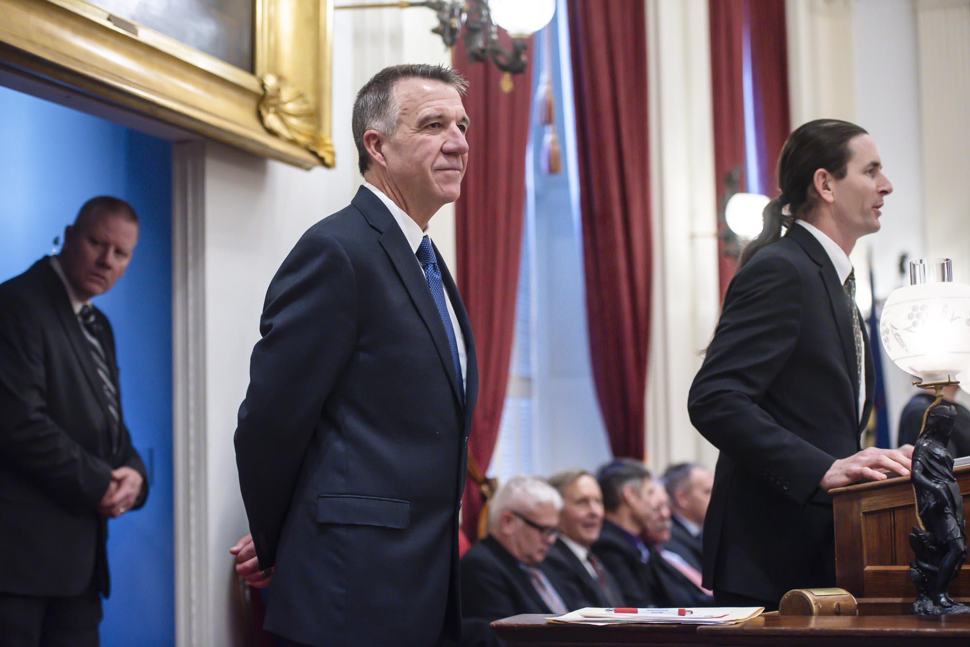 WATCH LIVE: Gov. Phil Scott's 2020 budget address