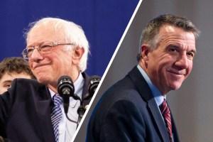 Bernie Sanders and Phil Scott