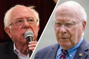 Bernie Sanders and Patrick Leahy
