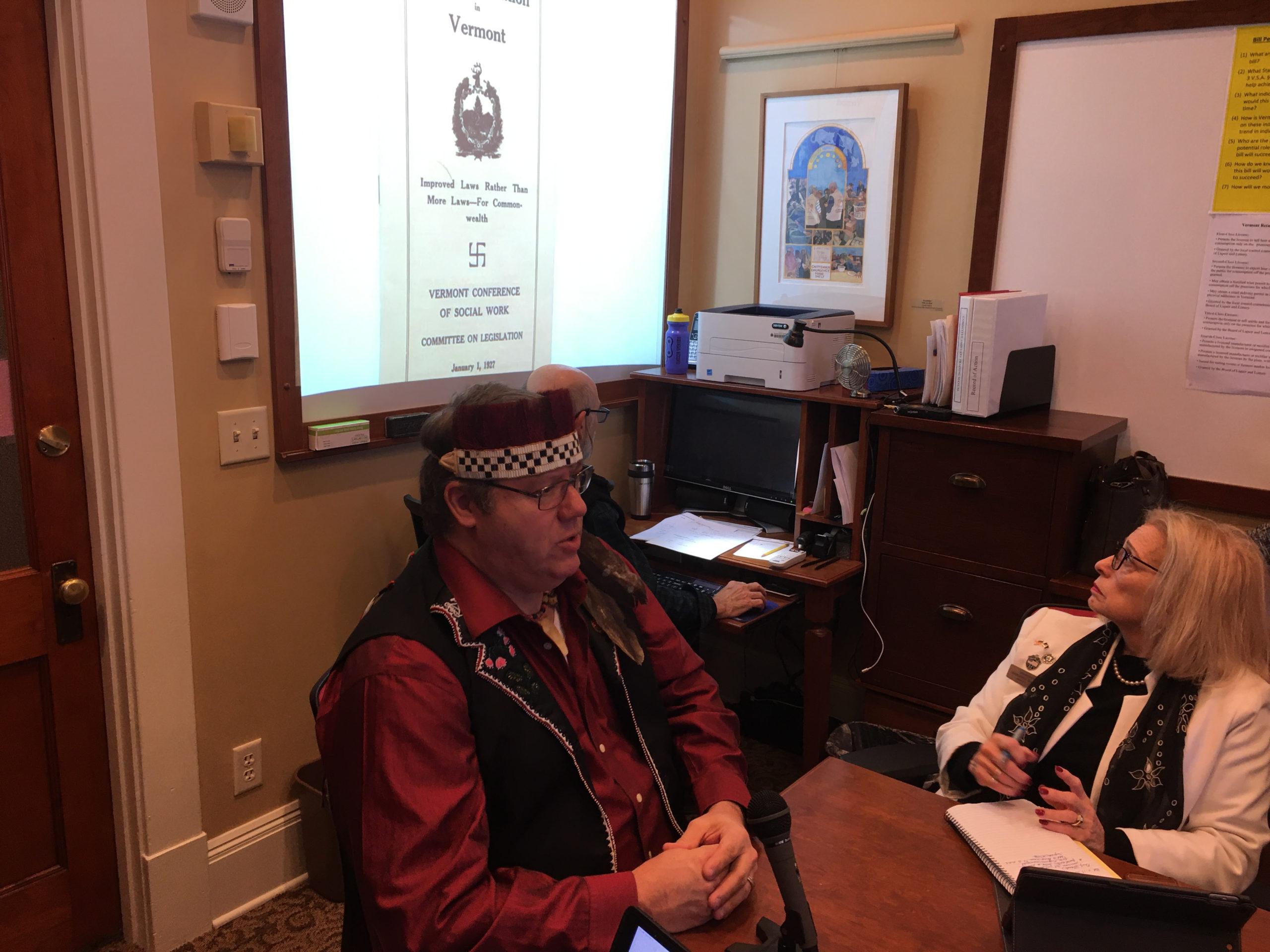 Final Reading: Abenaki tribe supports Statehouse eugenics apology