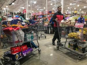 COSTCO coronavirus shopping