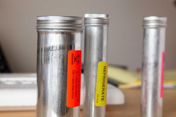 coronavirus test specimen containers