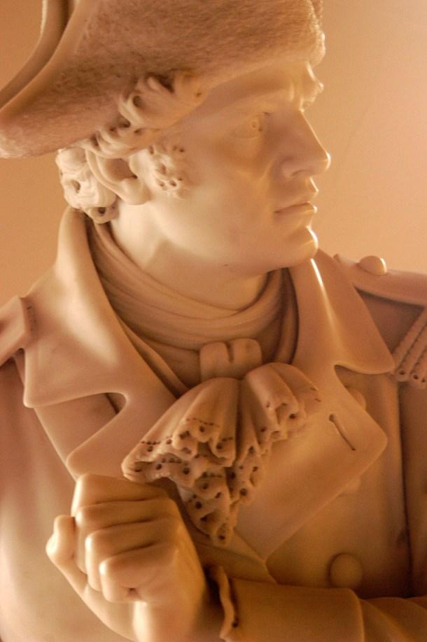 Ethan Allen sculpture by Mead