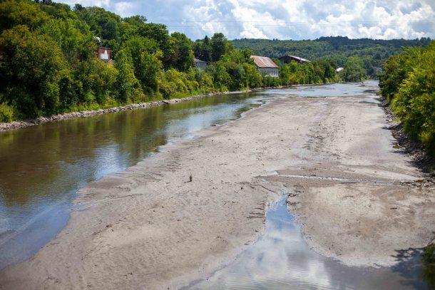 Winooski River in Montpelier
