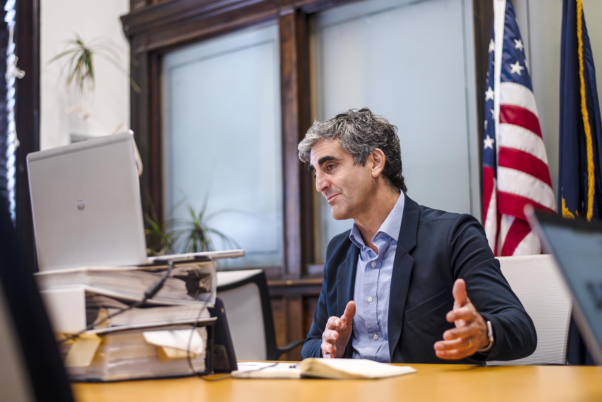 Weinberger vetoes 'hostile' police oversight board